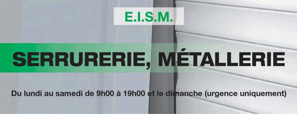 EISM votre Serrurerie, métallerie à Carrières-sous-Poissy !