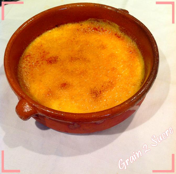 <font color =#FFFFFF> Recette, cuisine, dessert, Grain 2 sucre, Crème brûlée, Felder </font>
