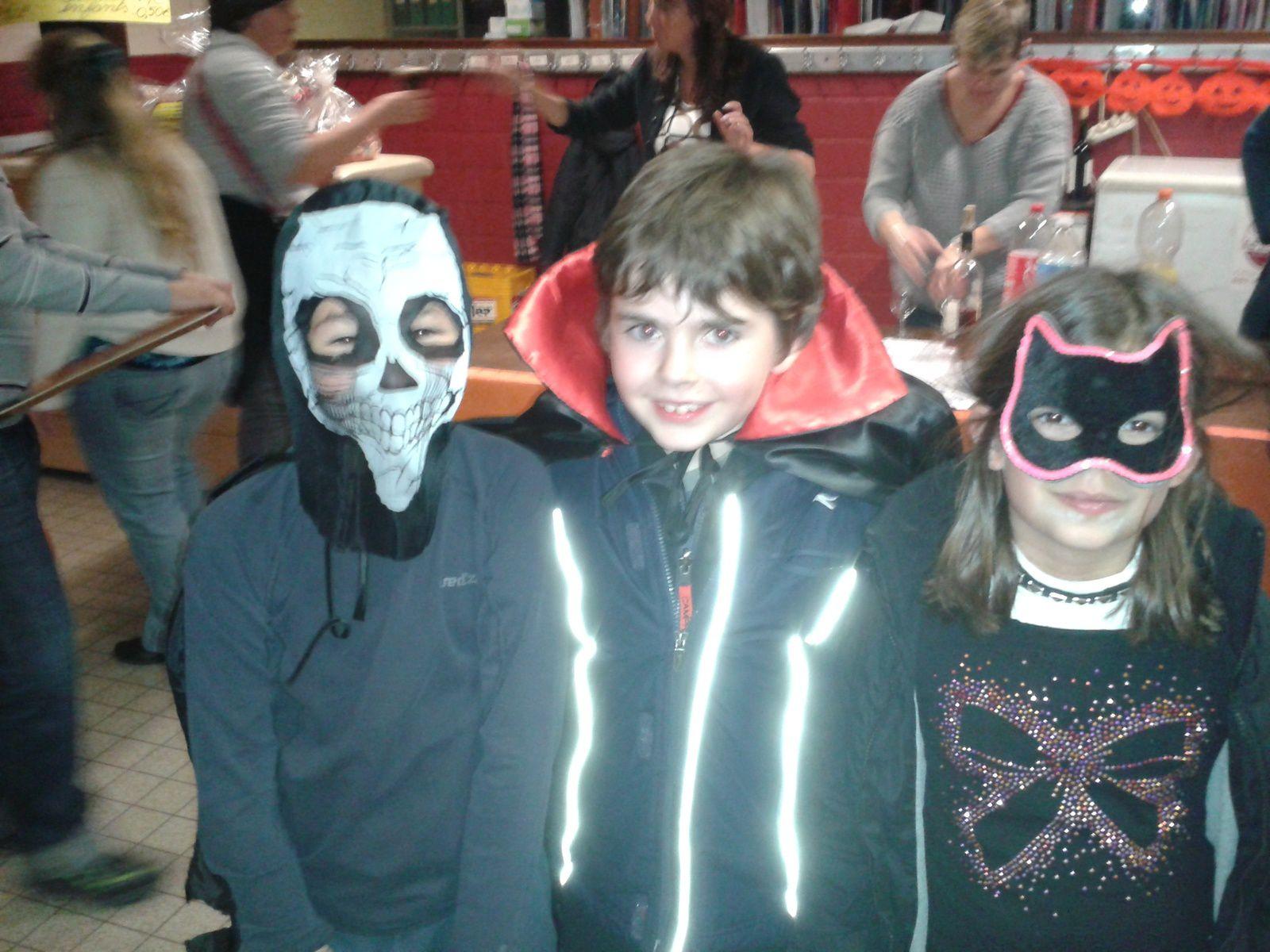 Chouette soirée Halloween à Tumerelle