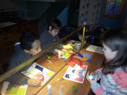 Visite du musée Horta pour les élèves de 3ème année