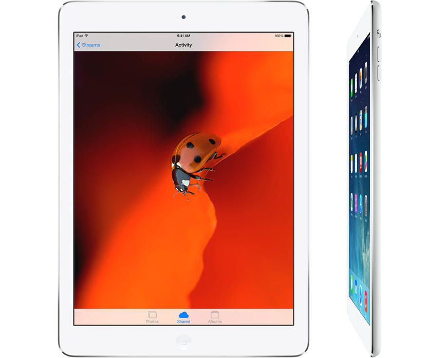 iPad Air now available for sale