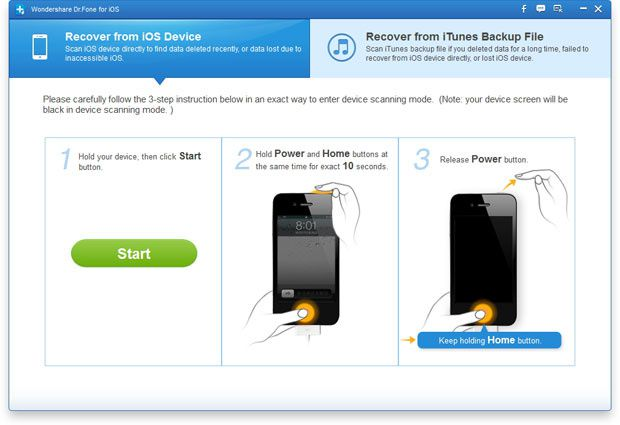 How to recover deleted notes on iPhone 5S/5C/5/4S/4/3GS