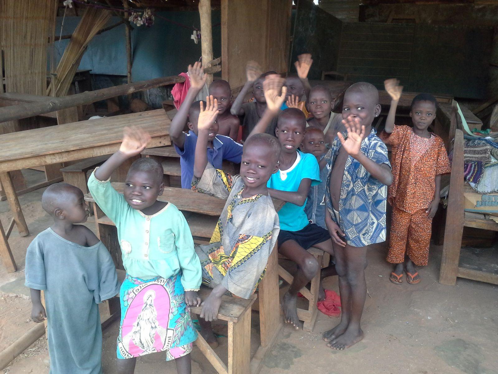Pascal, en mission au Bénin