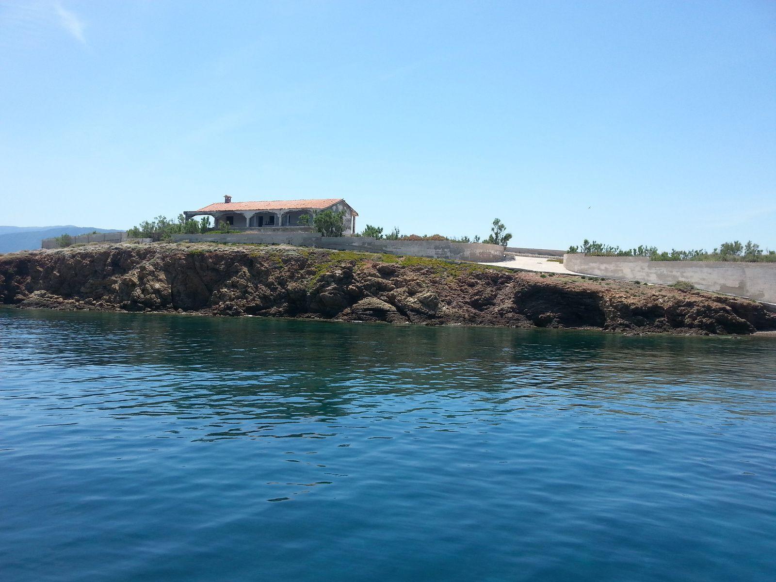 Baie entre les îles d' Alkionidhes