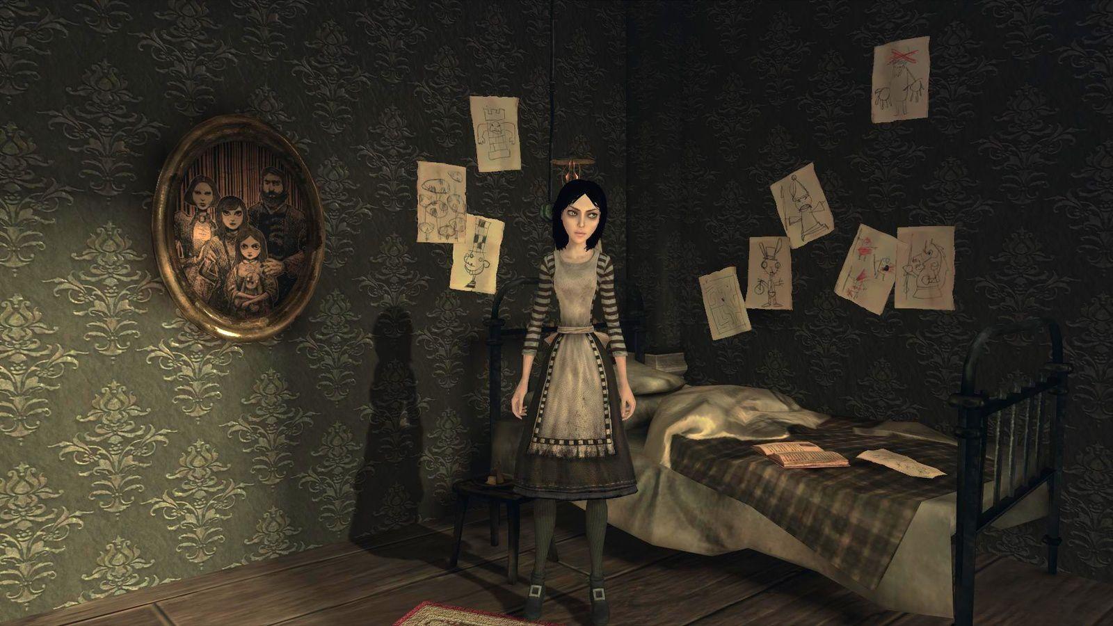 Soyez les bienvenus dans le monde réel d'Alice personne de jeu vidéo inspirée d'un livre inspiré d'un vraie fillette qui inspirait de vrais fantasmes malsains à un véritable artiste du monde réel