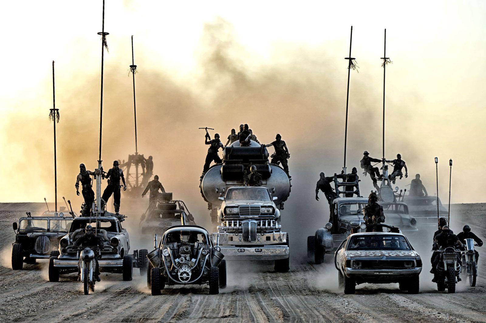 Mad Max fury road ode à une violence atone dans le désert