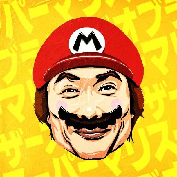 Shigeru Miyamoto super star