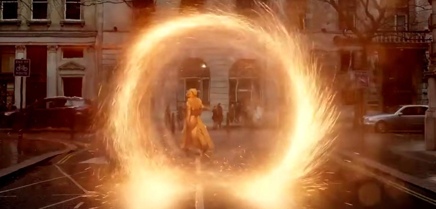 Les images ne sont pas toujours originales dans Docteur Strange mais elles sont toujours superbes, esthétique, graphiques et surtout évocatrices.