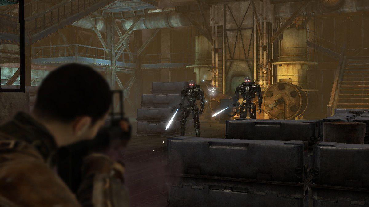 Je trouve que les photos de Terminator Renaissance rendent mieux que les graphismes en jeu, mais c'est peut-être moi qui me suis trompé.