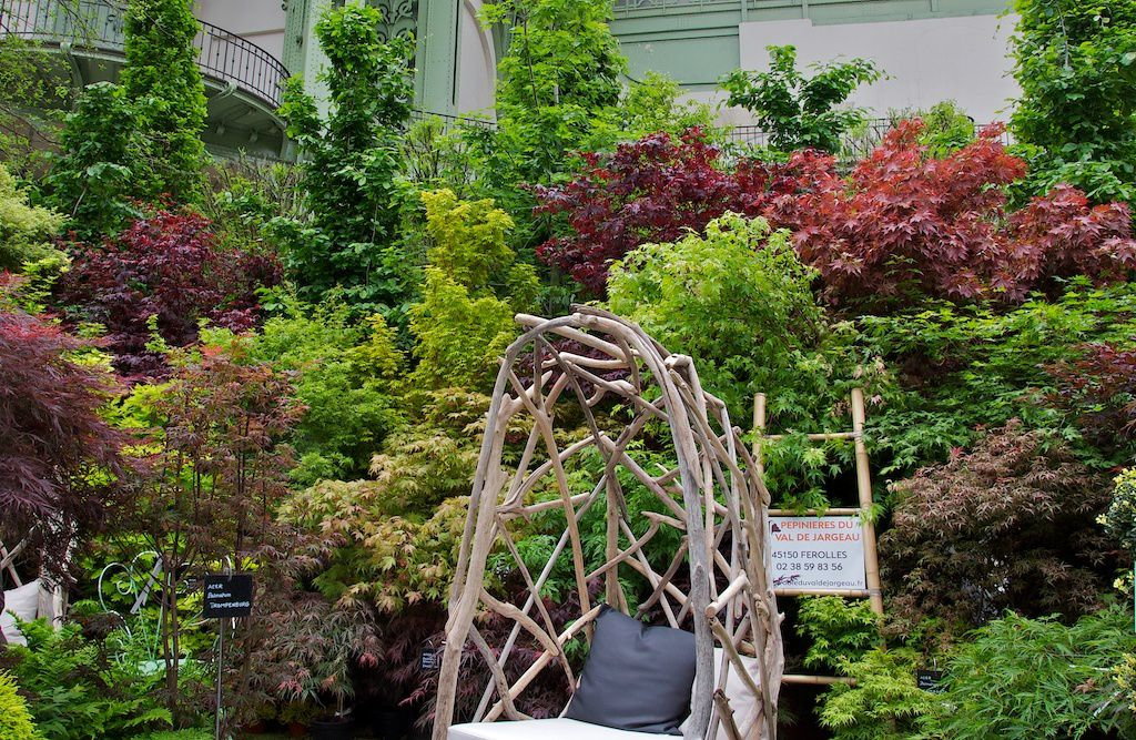 art du jardin- grand palais-pépinières du val de jargeau.