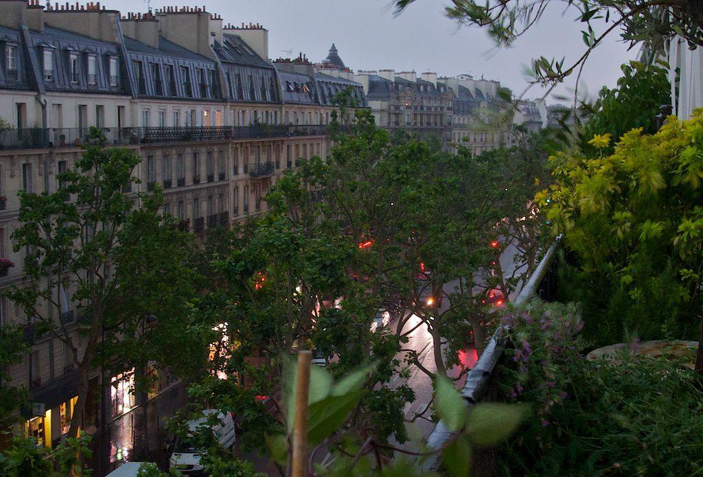 17h30. Déluge sur Paris.