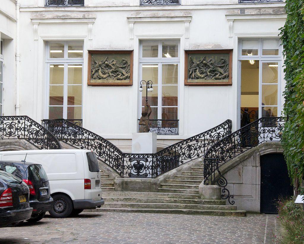 La galerie Perrotin. 76 rue de Turenne. Paris 3.