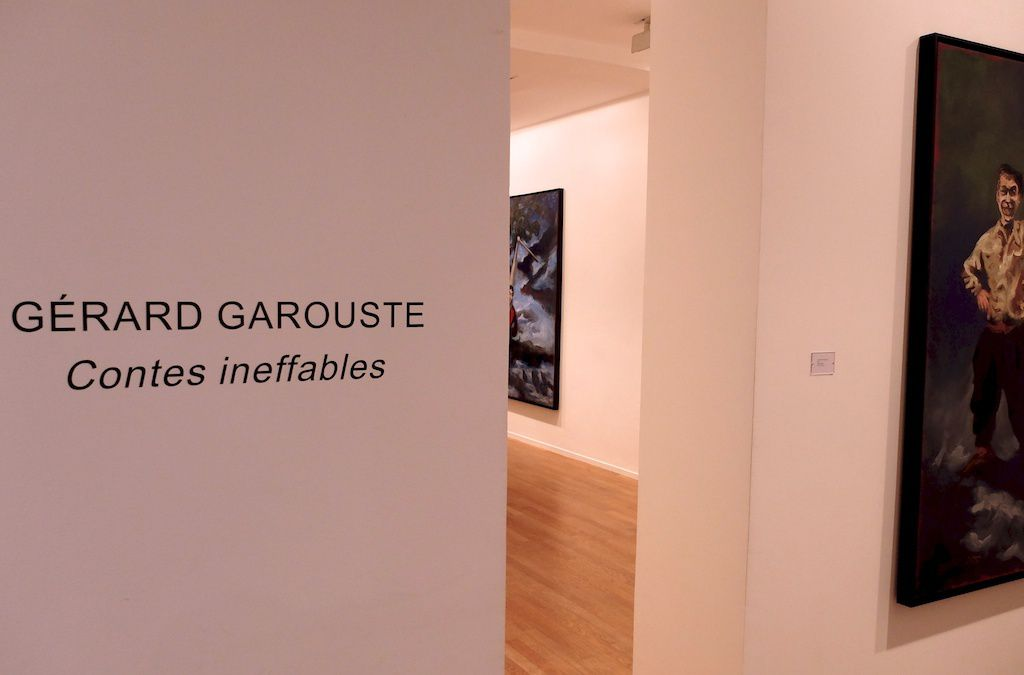 Galerie Daniel Templon. Contes ineffables. Gerard Garouste.
