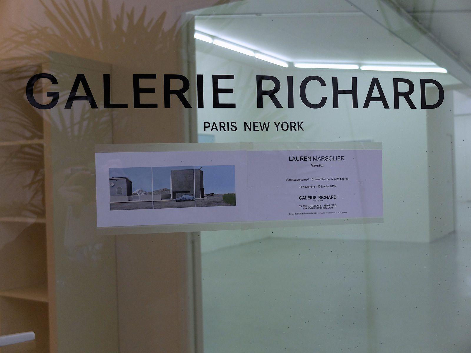 galerie Richard-Lauren Marsolier.