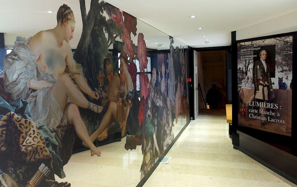 lumières: Christian Lacroix au musée Cognacq Jay.