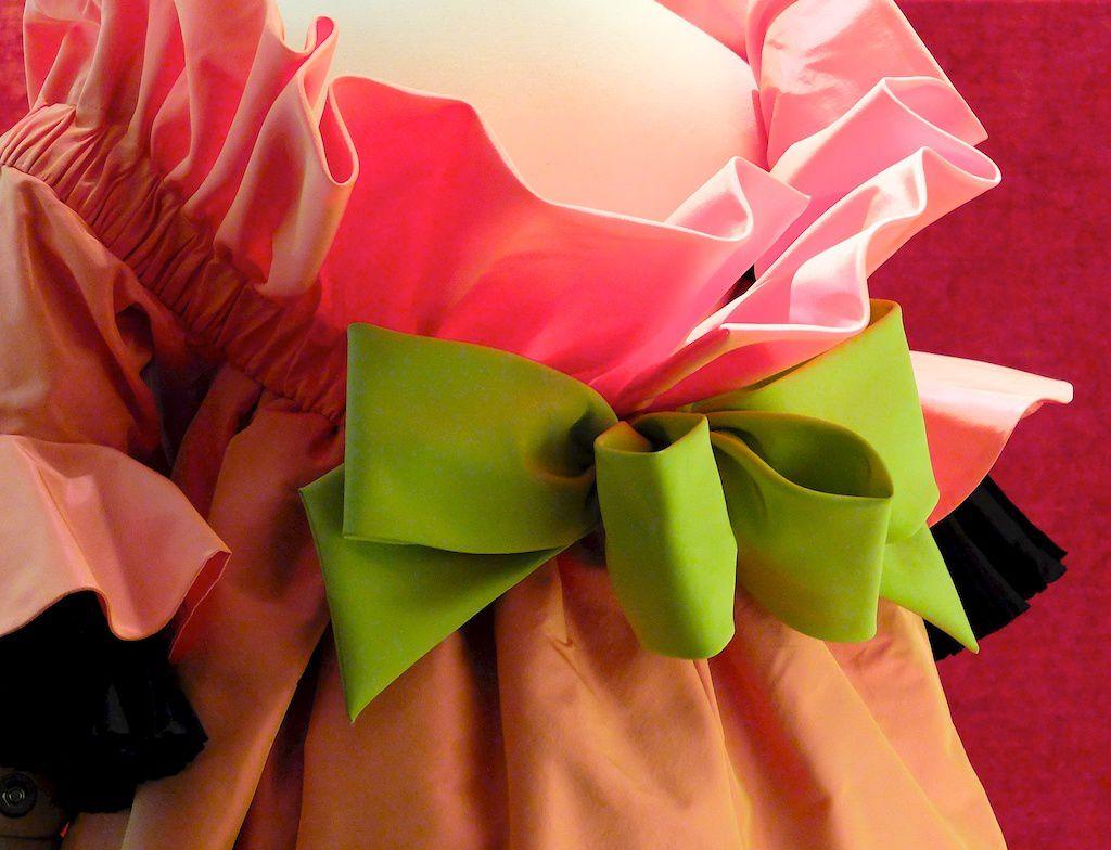 ©Christian Lacroix-robe haute couture crée pour Mme Françoise Lacroix.