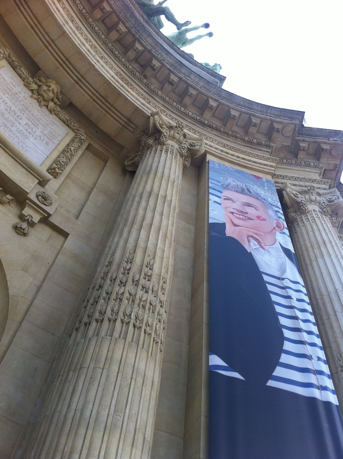 Jean Paul Gaultier au grand palais-paris.