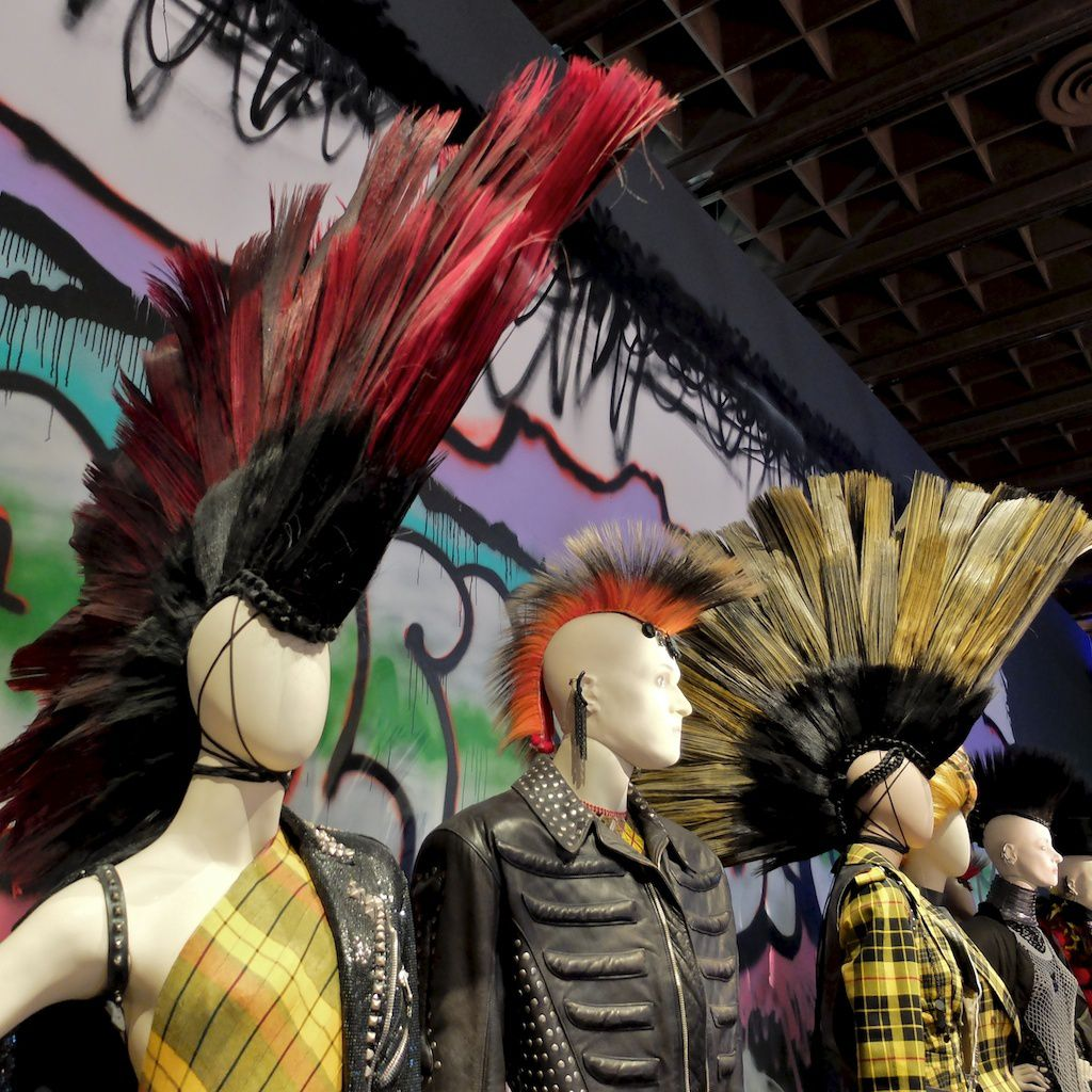 ©Jean Paul Gaultier-punk cancan-courtesy grand palais