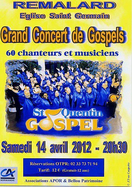 Concert de gospel à Rémalard