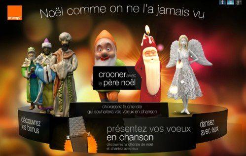 Pour Noël, Orange vous fait chanter !