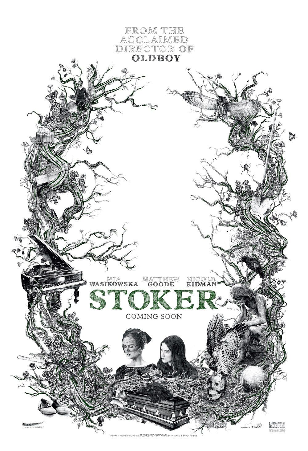 [critique] Stoker : beauté malsaine