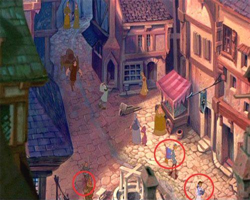Les personnages Disney qui s'incrustent