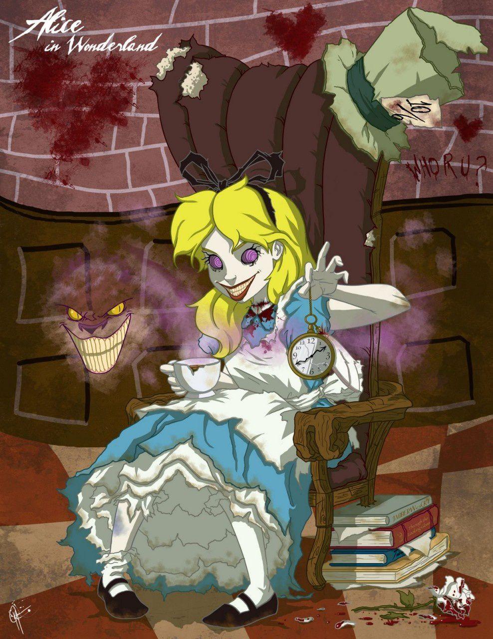 Spécial Halloween : les princesses Disney en horreur !