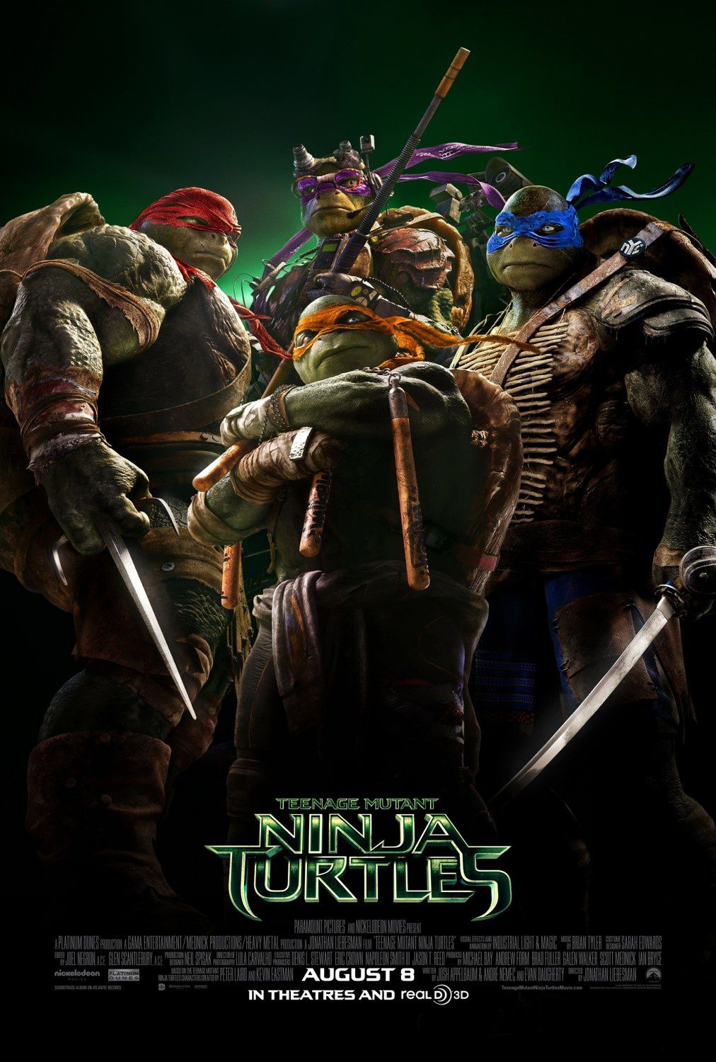 [critique] Ninja Turtles... con mais assumé