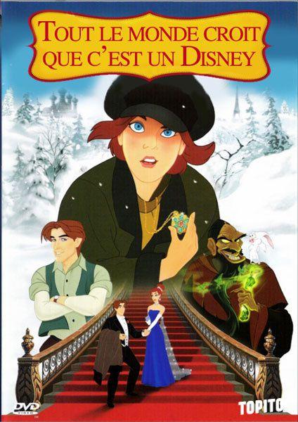 10 titres/affiches de films Disney en version honnête