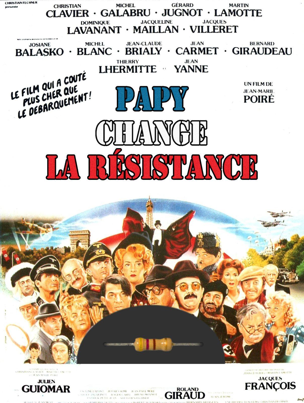 """""""Papy fait de la résistance"""", un film revisité par HelloCasa.fr. La guerre a une autre image..."""