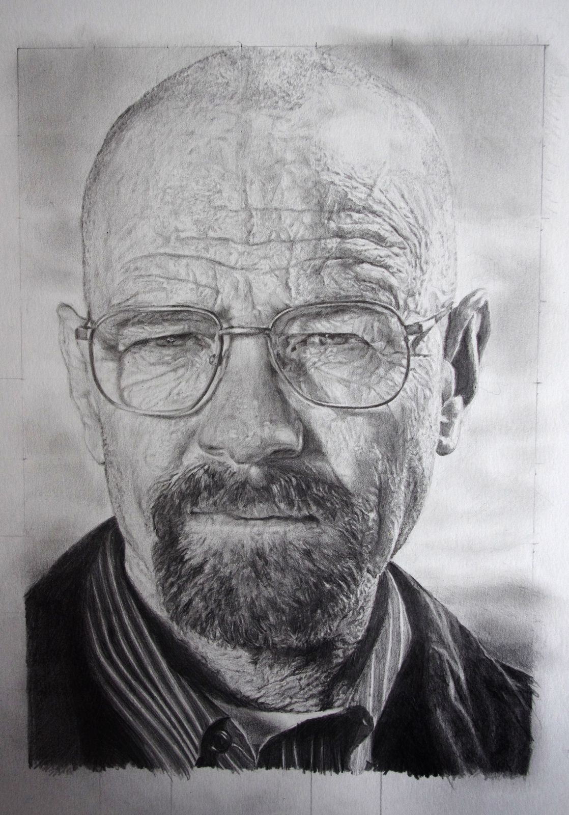 [Speed Drawing] Apprend à dessiner Walter White (Breaking Bad)