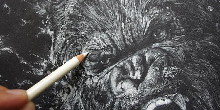 [Speed Drawing] Apprend à dessiner King Kong