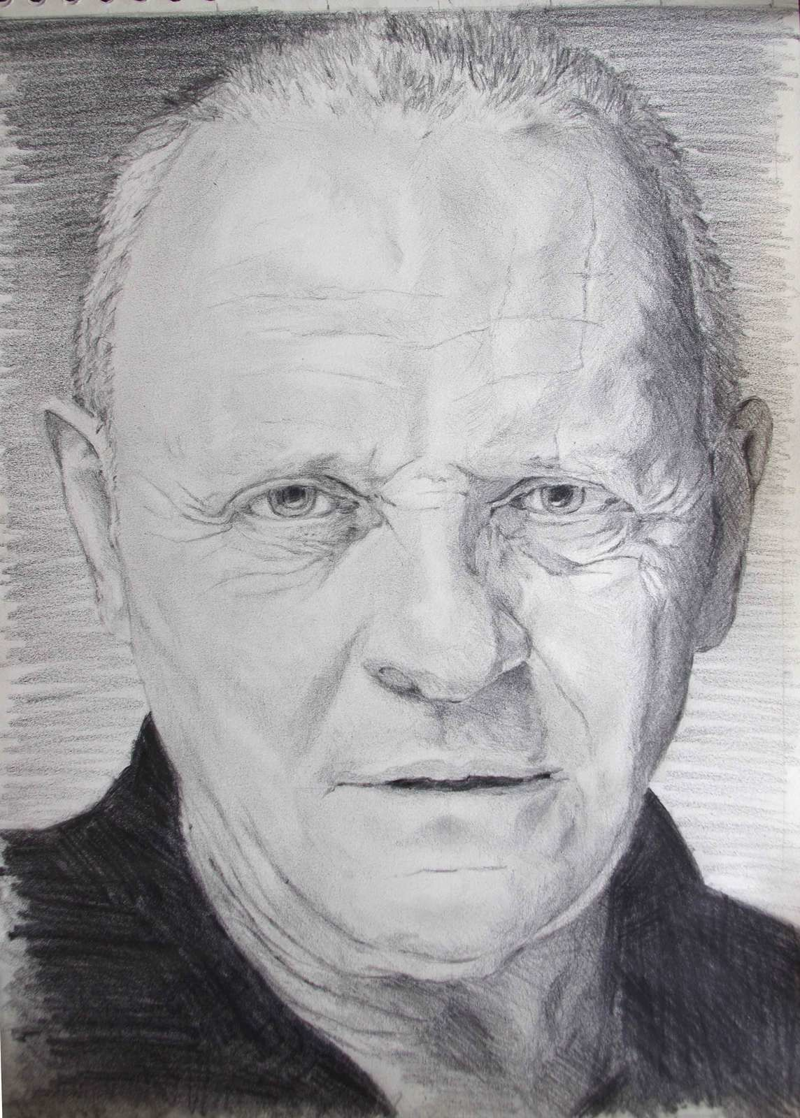 [Speed Drawing] Apprend à dessiner Antony Hopkins