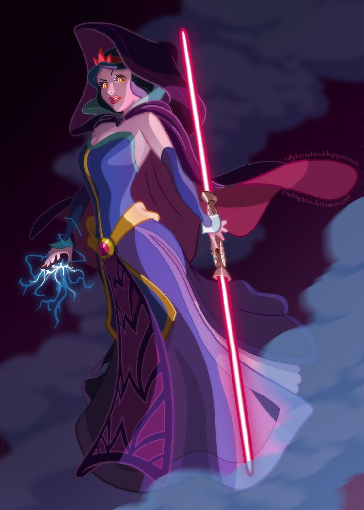 Les princesses Disney version Star Wars