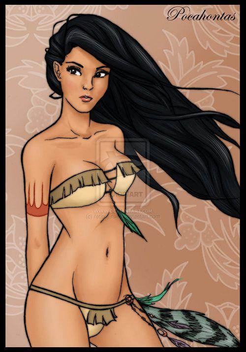 Les princesses Disney très sexy en lingerie !