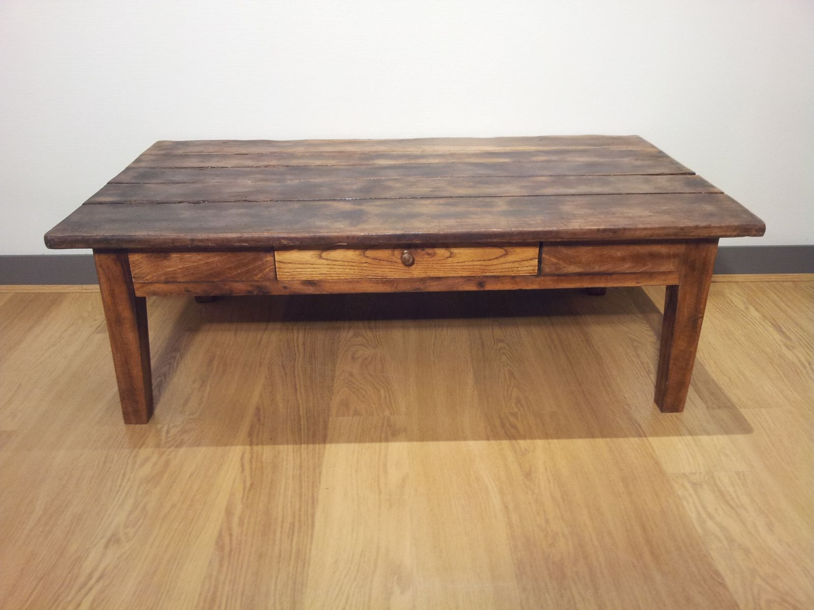 Grande Table Basse Carree Bois Maison Design Hosnya