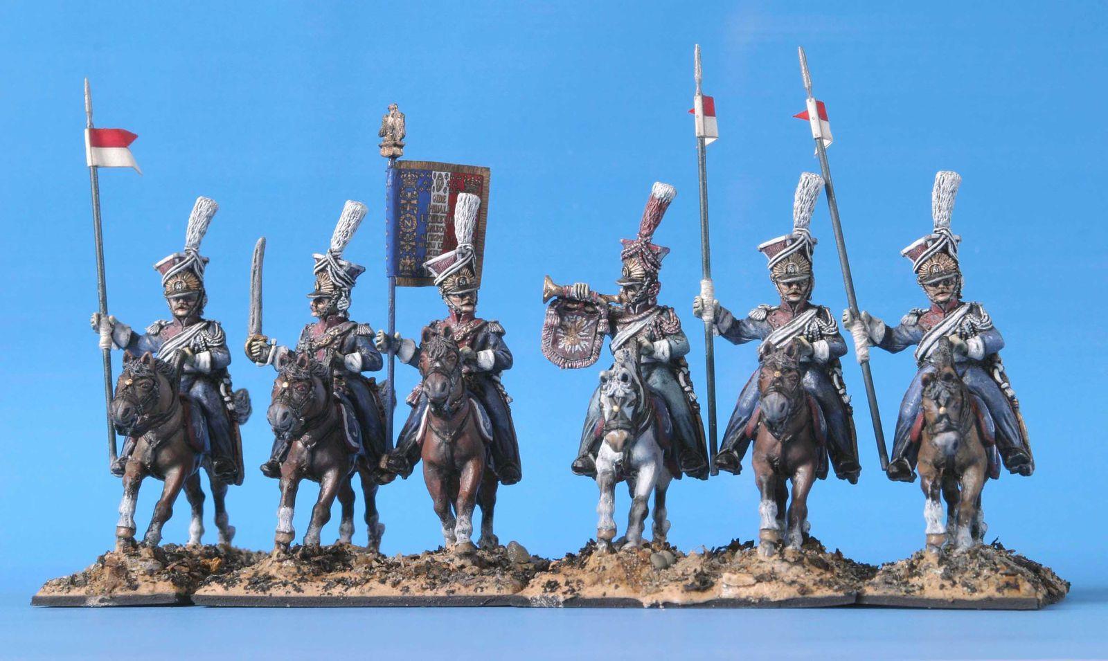 Lanciers polonais de la Garde Impériale / Front Rank.