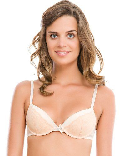 90fe22ffb74e32 women secret - Gemoldeter Push-Up-BH mit Spitzeneinsatz auf den Cups ...