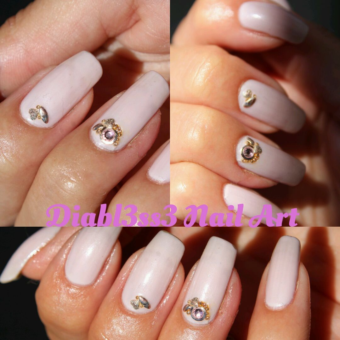 Revue Studs champagne (or rose)