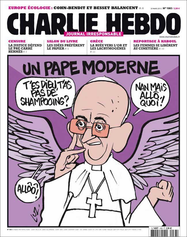 La une de Charlie : Même Charlie Hebdo met le buzz à sa une !
