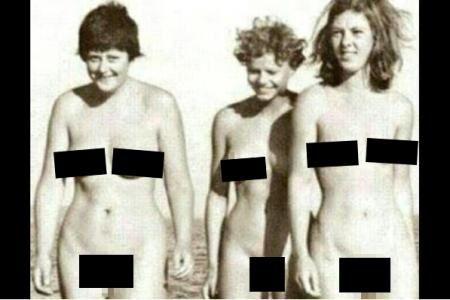 Sexy and co : Des photos nues de jeunesse d'Angela Merkel en ligne