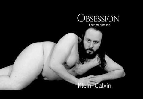 (Parodie d'une pub Calvin Klein, extraite de la vidéo. DR)