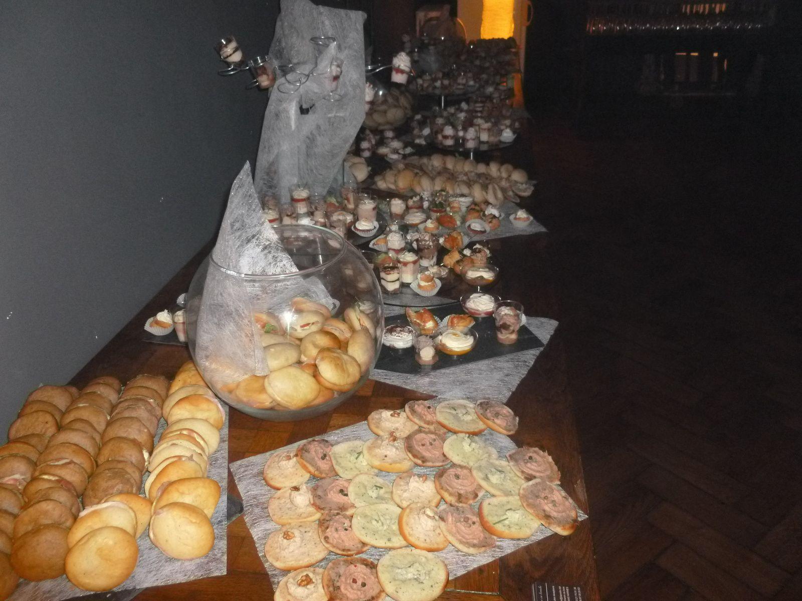 Un buffet aérien