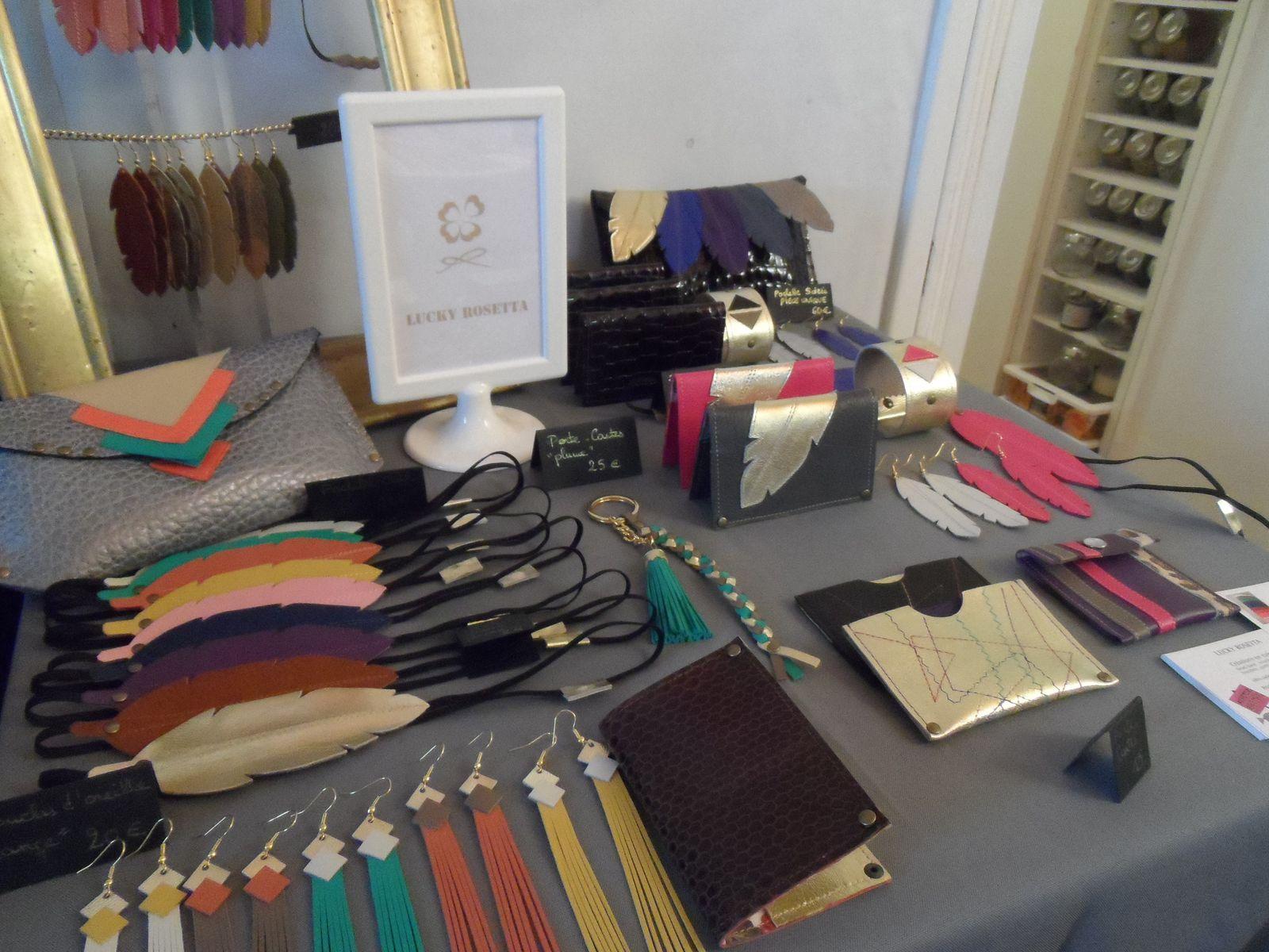 Création Lucky rosetta pour les fans de cuir