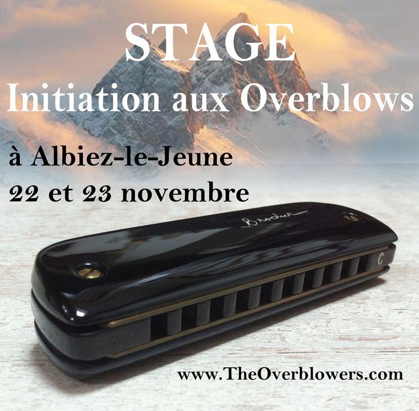 Stage pour débutants Overblowers