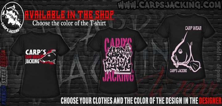 Carp clothing for the ladys