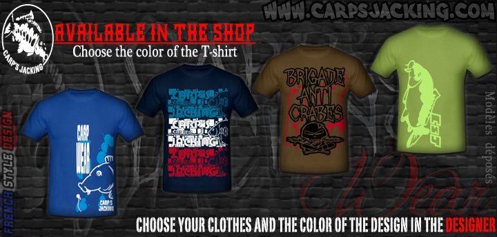 Carp clothing t-shirts for men