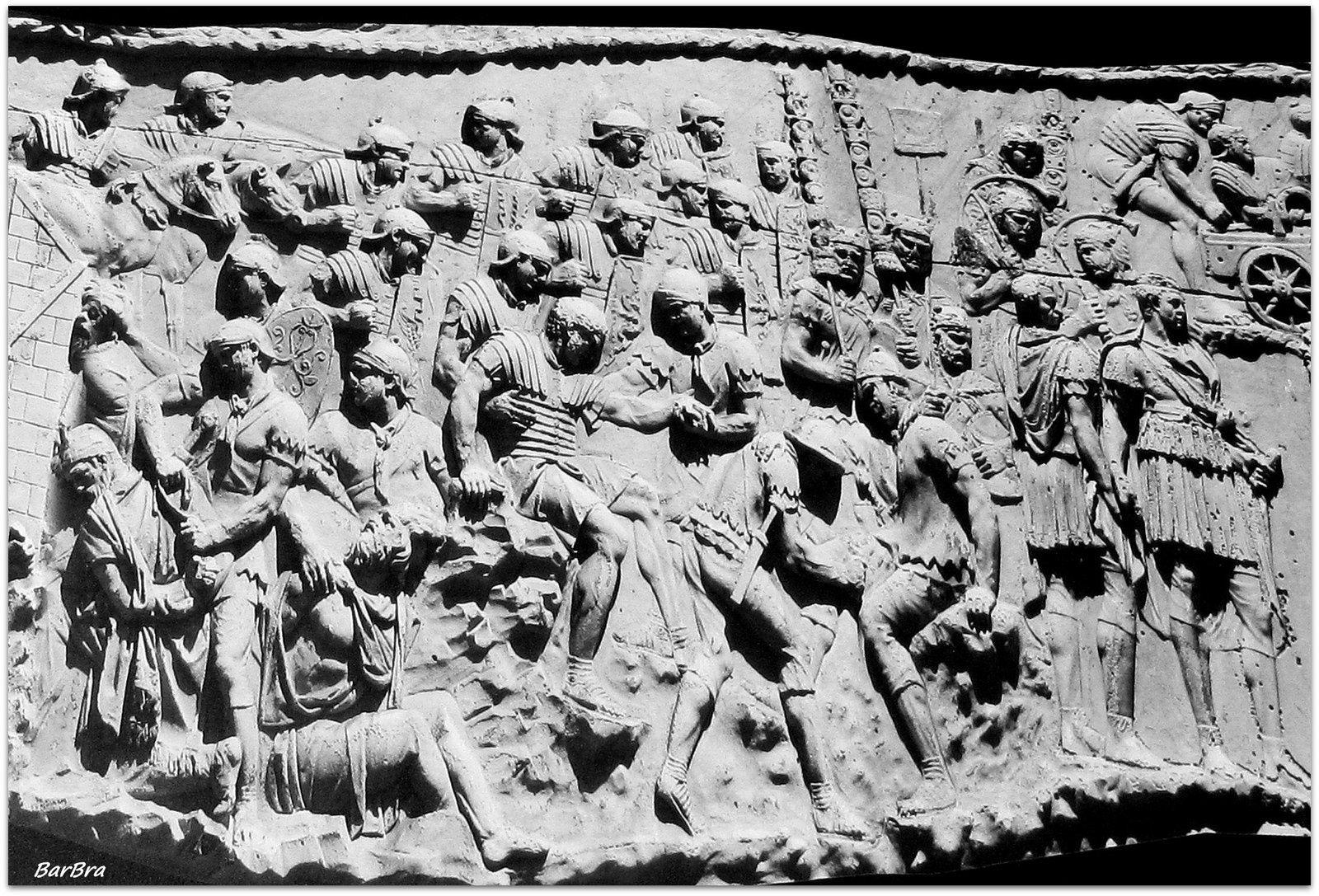 I Romani curano i feriti