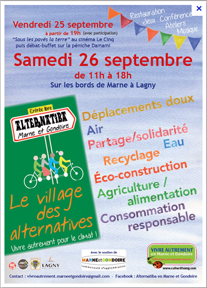 VILLAGE ALTERNATIBA A LAGNY SUR MARNE