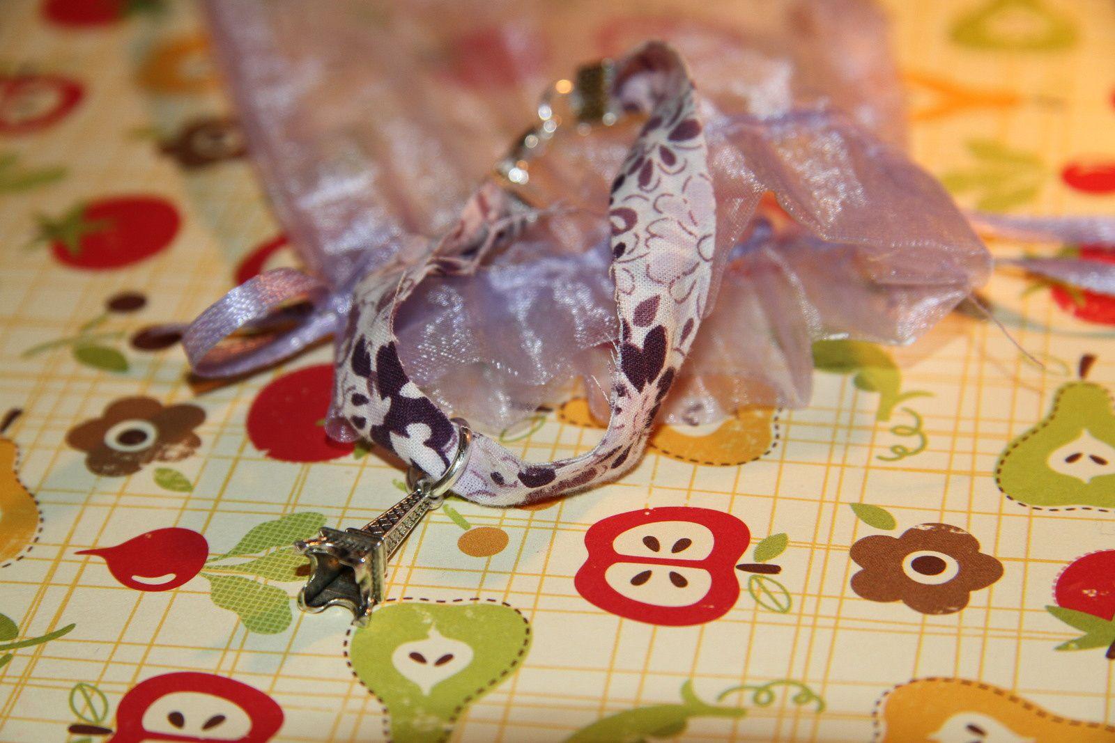 ♥ Le calendrier de l'avent ♥ / ♪ Jour 6 ♪ DIY : Bracelet liberty .